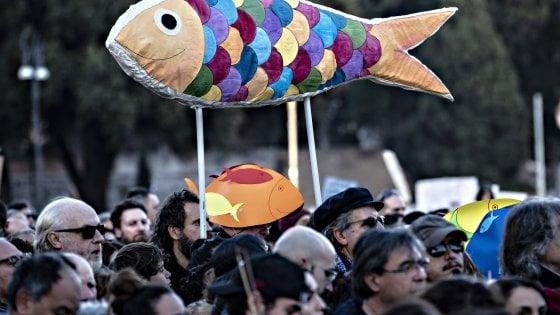 Sardine, il 19 gennaio grande manifestazione per l'Emilia Romagna a Bologna