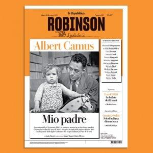 Albert Camus è vivo e lotta sul nuovo Robinson