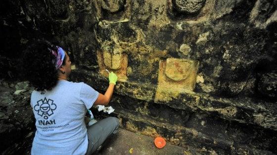 Messico, l'edificio scoperto nella giungla che racconta dei maya