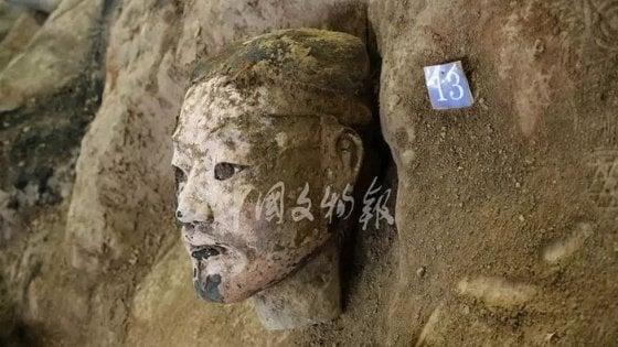 Cina: scoperti altri 220 Guerrieri di Terracotta