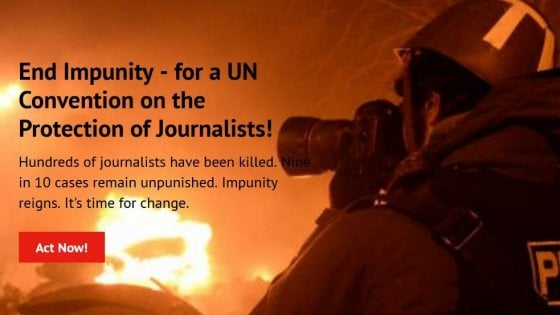 Nel 2019 uccisi 49 giornalisti
