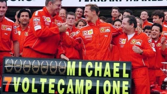 """F1: Schumacher compie 51 anni. La Ferrari: """"Siamo tutti con te"""""""
