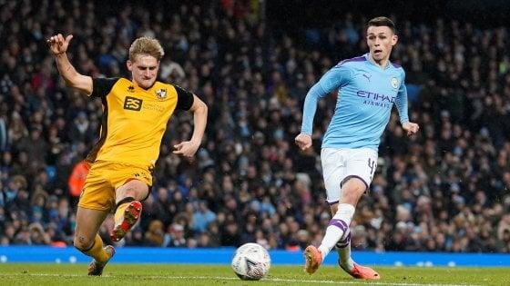 Coppa d'Inghilterra: Manchester City, Leicester e Bournemouth al quarto turno