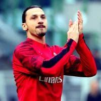 Milan, ovazione per il ritorno a San Siro di Ibrahimovic