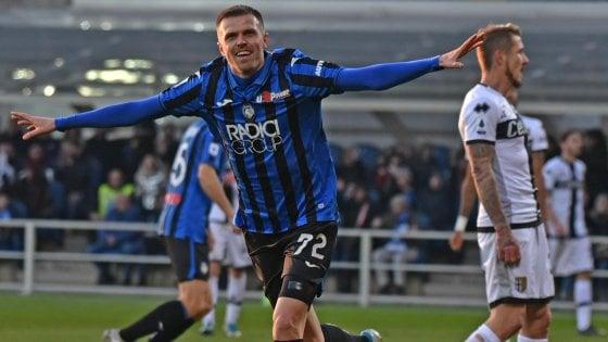 Atalanta-Parma 5-0: altro pokerissimo, show di Ilicic