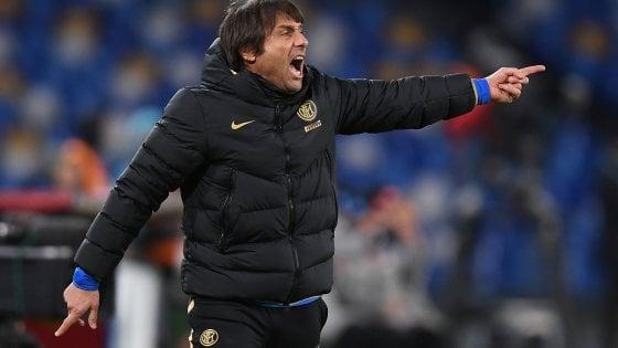 """Napoli-Inter, l'ironia di Conte: """"Lukaku? E' una pippa..."""". Poi bacchetta Capello"""