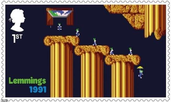 I videogame storici? Finiscono sui francobolli