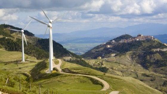 In Italia 36% dell'energia elettrica è rinnovabile