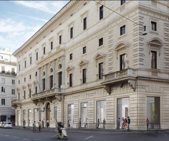 Apple a Roma, ora c'è la data: apre in primavera il maxi-store di via del Corso