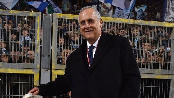 """Lazio compie 120 anni, Lotito: """"Scudetto? Gli obiettivi vanno raggiunti e non proclamati"""""""