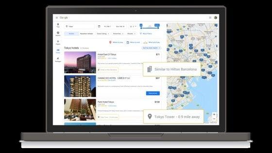 Google rinnova la sezione travel. Ora ti dice anche quando partire