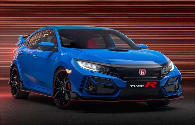 Honda, prima immagine della nuova Civic Type R