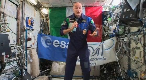 Parmitano a Conte: l'Italia è sul podio delle tecnologie per lo spazio