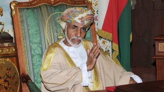 Oman, morto a 79 anni il sultano Qabus. Era il più longevo del mondo arabo, al potere da 50 anni