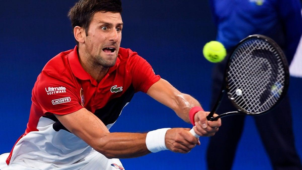 Tennis, Atp Cup: sarà Serbia-Spagna in finale