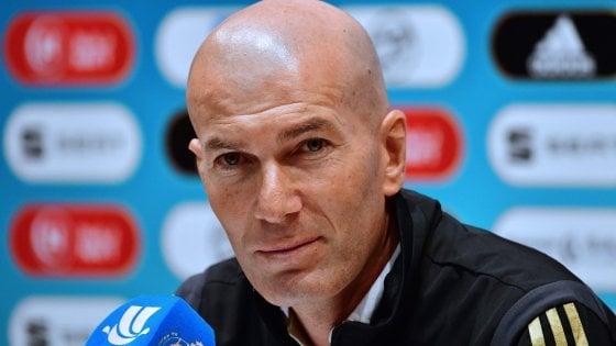 """Real-Atletico, il derby di Madrid vale la Supercoppa spagnola. Zidane: """"Finali nel nostro dna"""""""