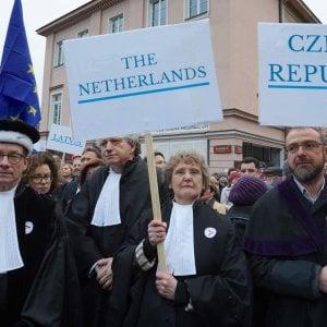 Polonia, giudici di tutta Europa in piazza contro la riforma della giustizia