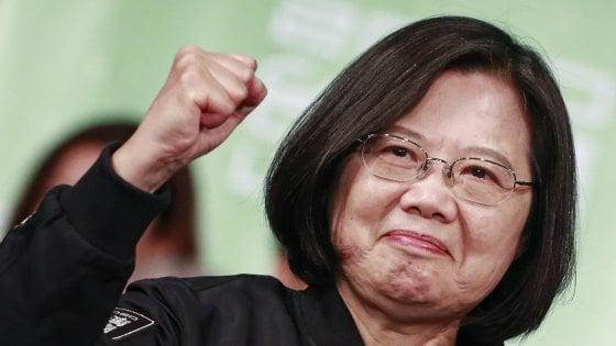 "Taiwan, schiaffo alla Cina. Tsai vince presidenziali: ""Non cederemo a minacce"""