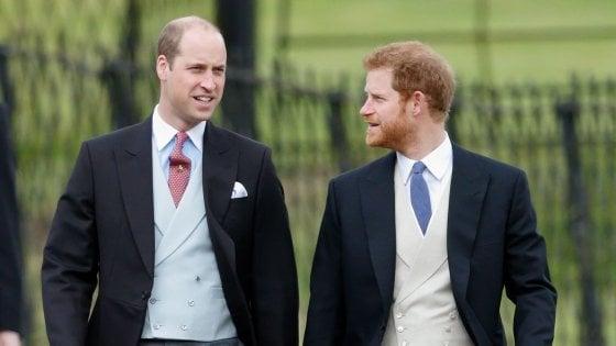 """Gb, il principe William: """"Sono stato la spalla di mio fratello per tutta la mia vita. Ora non posso più farlo"""""""