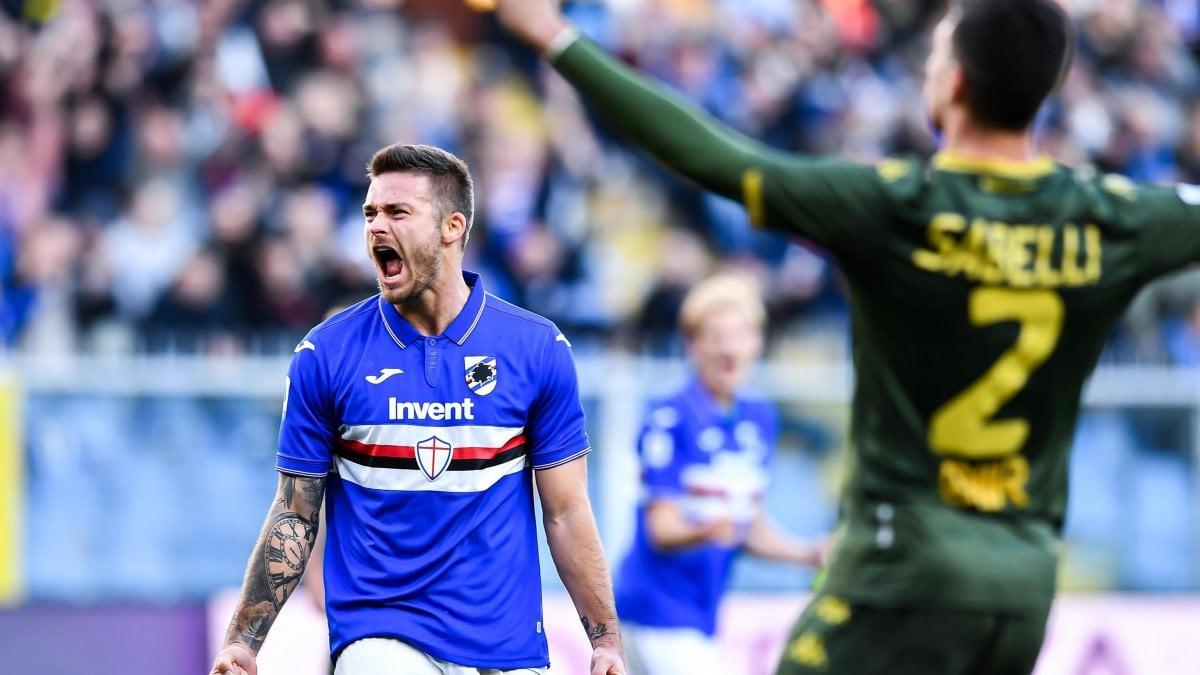 Sampdoria-Brescia 5-1, Ranieri vola a +5 sulla zona calda