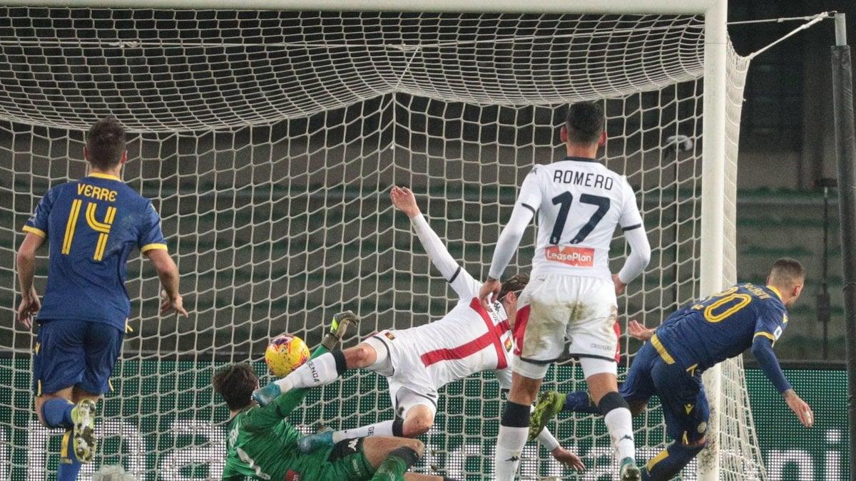 Verona-Genoa 2-1: Sanabria illude il Grifone, poi Verre e Zaccagni ...