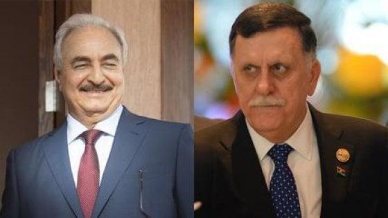 Libia, Al Serraj e Haftar a Mosca convocati da Putin rifiutano di incontrarsi