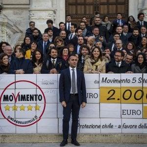 M5s, Di Maio cambia le regole sulle restituzioni: i fondi residui non andranno più a Rosseau