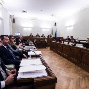 Caso Gregoretti, il centrodestra boccia l'acquisizione di nuovi documenti sulla  salute dei migranti. La maggioranza lascia l'aula