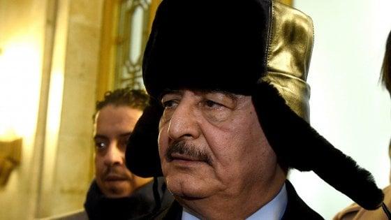 """Libia, Haftar lascia Mosca senza firmare cessate il fuoco. Conte: """"Manderemo i soldati solo in condizione di sicurezza"""""""