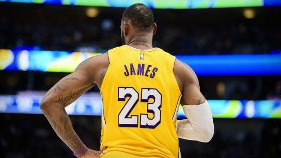Basket Nba: Lebron spietato con Cleveland, Gallinari e Melli trascinano Oklahoma e New Orleans
