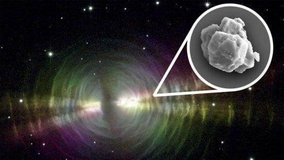 La più antica polvere di stelle trovata in un meteorite