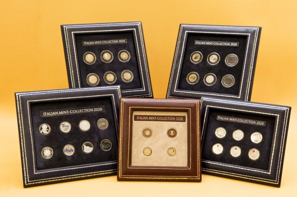 Da Marco Aurelio alla pizza: la nuova collezione di monete della Zecca. Conio fosforescente per gli animali a rischio estinzione