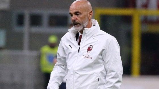 """Milan, Pioli: """"Passare il turno è un dovere morale verso i nostri tifosi"""""""