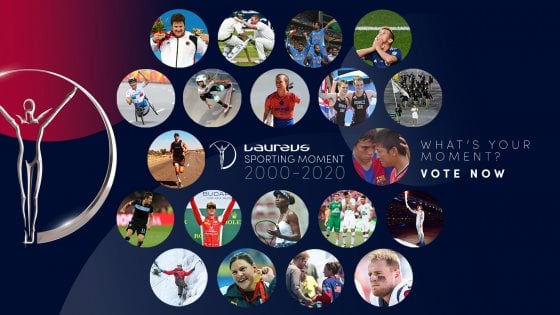 Laureus, parte il voto per lo Sporting Moment 2000-2020