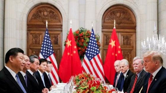 L'incontro Xi-Trump ai tempi del G20 argentino del dicembre 2018