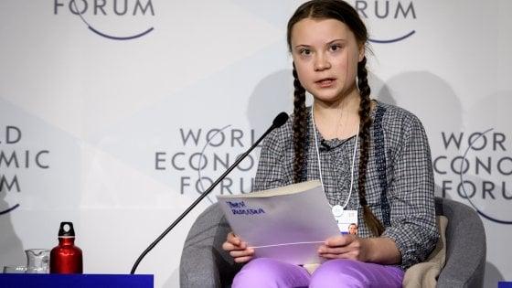 Davos, per la prima volta il clima è il maggior rischio finanziario. Greta sarà al forum