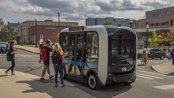 Olli, arriva in Italia il bus a guida autonoma stampato in 3D