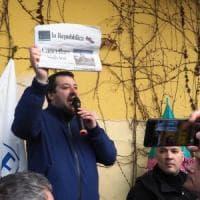 """Salvini contro Repubblica, il giornale: """"Attacco indecente"""""""