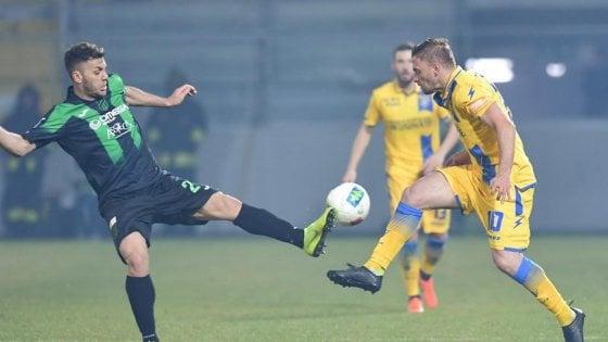 Serie B, Frosinone-Pordenone 2-2: i neroverdi consolidano il secondo posto