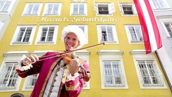 Salisburgo festeggia il suo genio musicale. Buon compleanno Mozart
