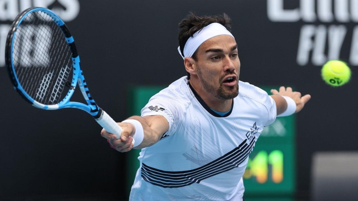 Tennis, Australian Open: grande rimonta di Fognini, anche il giovane Sinner al secondo turno.