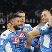 Coppa Italia, Insigne porta il Napoli in semifinale: 1-0 alla Lazio