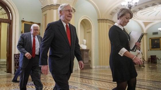 Impeachment Trump, 13 ore di battaglia al Senato sulle regole del processo