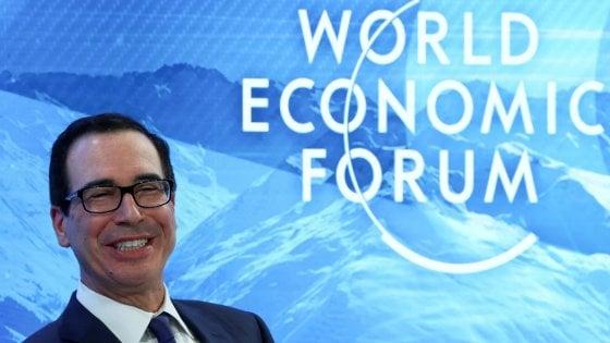 Steven Mnuchin al Forum di Davos