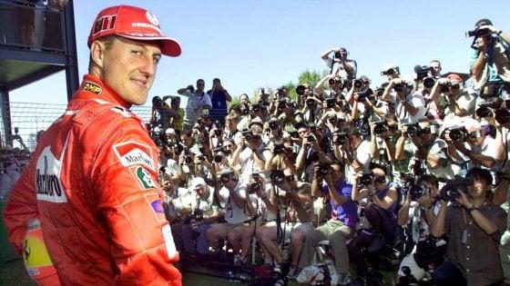 Schumacher, stampa inglese: foto rubate in vendita per un milione