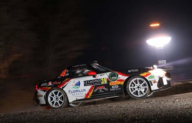Riparte da Montecarlo l'avventura dell'Abarth 124 rally