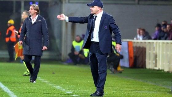 """Fiorentina, Iachini: """"Buon inizio, ma dopo il rigore abbiamo perso serenità"""""""