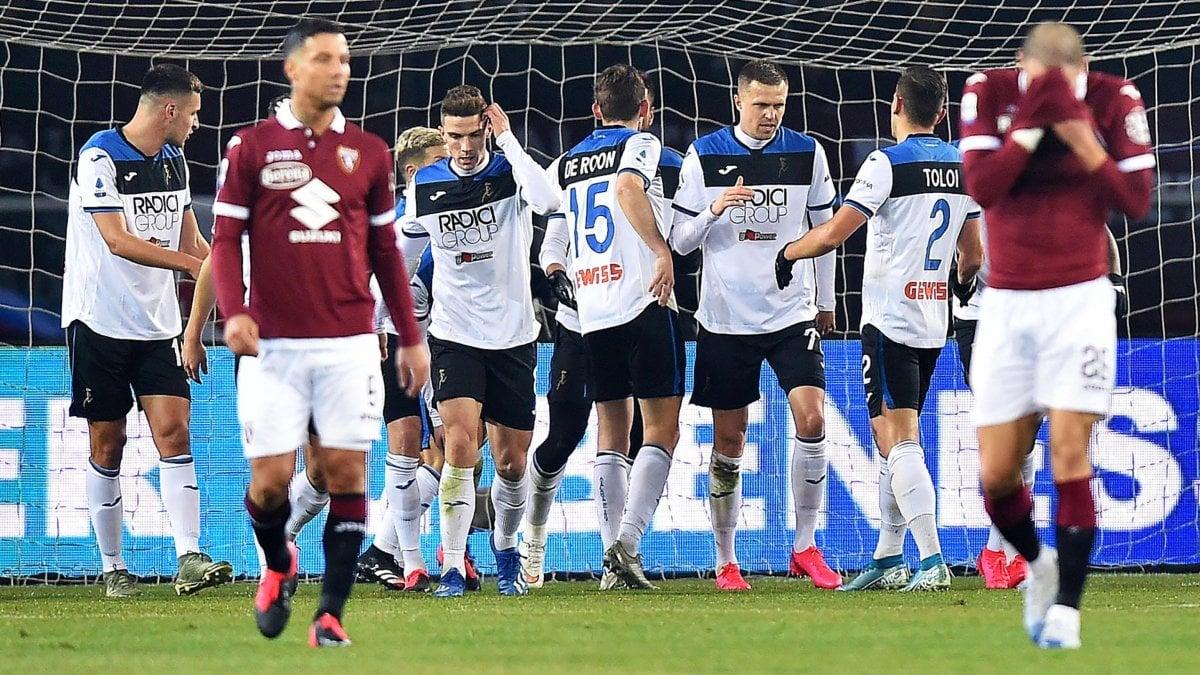 Torino-Atalanta 0-7: Ilicic stellare, disfatta storica per i granata