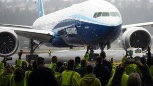 Ecco il nuovo Boeing 777X: l'aereo passeggeri più lungo di sempre