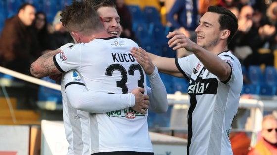 Parma-Udinese 2-0: Gagliolo e Kulusevski regalano ai ducali il sogno Europa